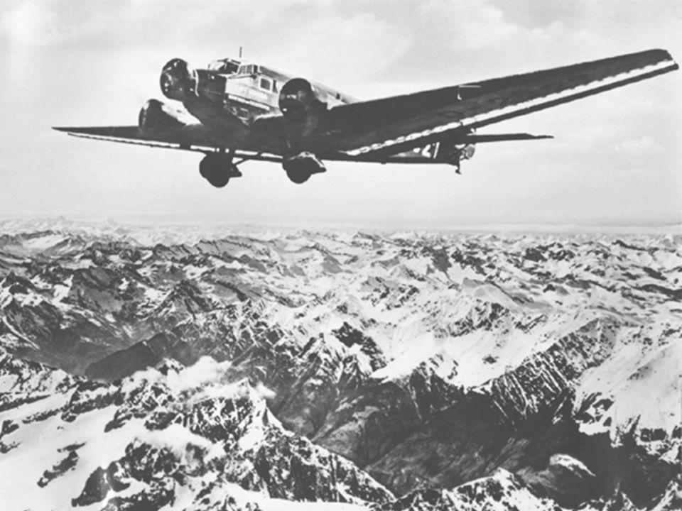 Flug schwerer als Luft - Antrieb 2. Kolbenmotoren 2.3 Weiterentwicklung Der Wunsch nach höheren Geschwindigkeiten und größeren Höhen (treibende Kraft