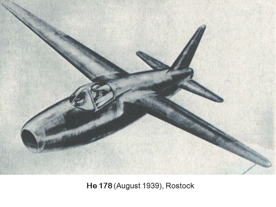 Flug schwerer als Luft - Antrieb 3. Strahltriebwerke 3.1 Entwicklung Bedarf einer neuen Antriebsquelle für höhere Geschwindigkeiten Theorie bestand se