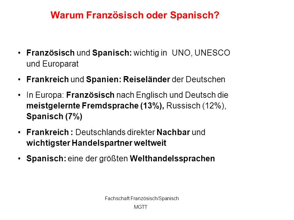2 Französisch und Spanisch: wichtig in UNO, UNESCO und Europarat Frankreich und Spanien: Reiseländer der Deutschen In Europa: Französisch nach Englisc