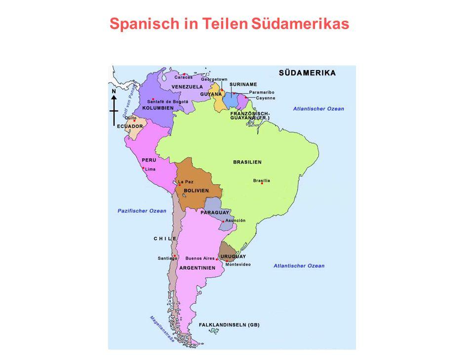7 Spanisch in Teilen Südamerikas