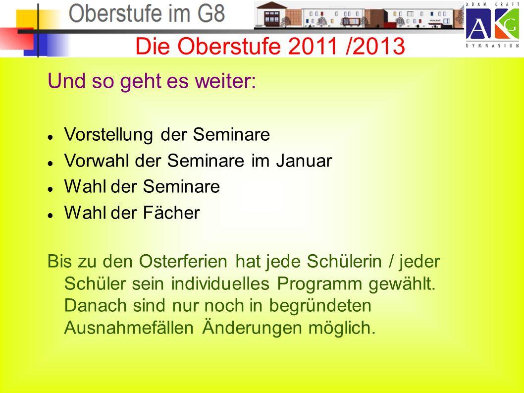 5 Abiturprüfungen 5 x 60 P. = 300 P. max.