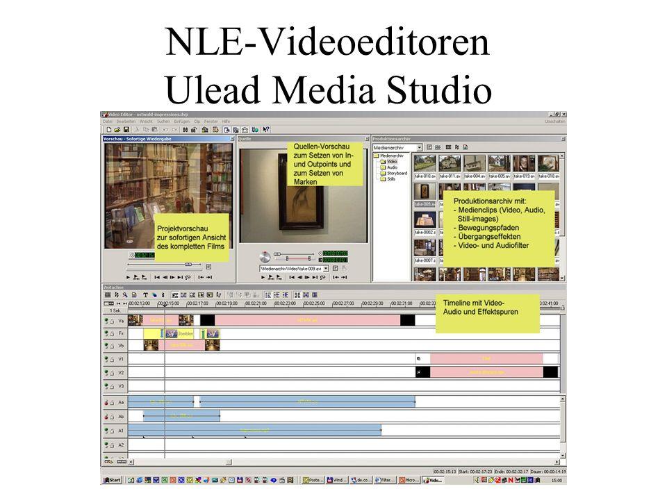 NLE-Videoeditoren Ulead Media Studio