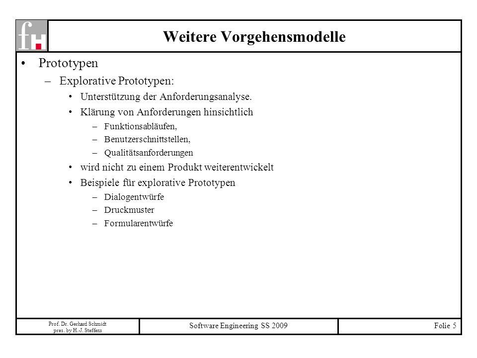 Prof. Dr. Gerhard Schmidt pres. by H.-J.