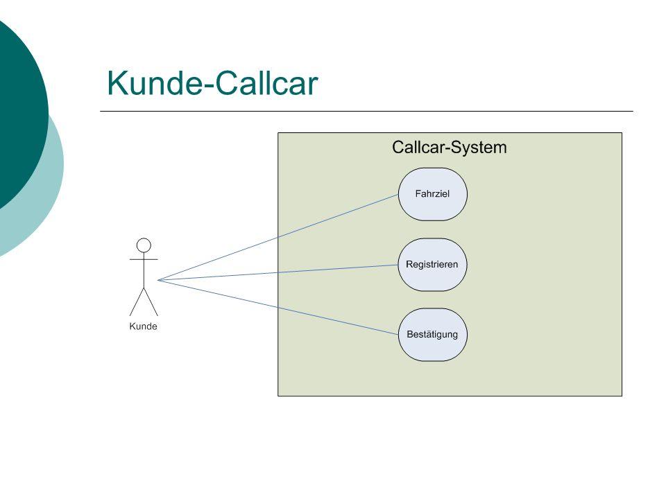 Kunde-Callcar