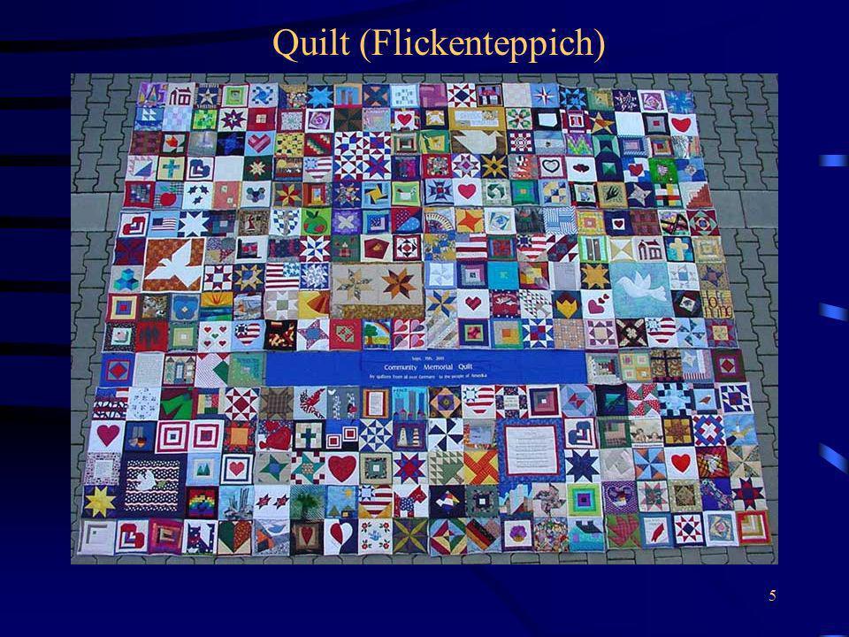 5 Quilt (Flickenteppich)