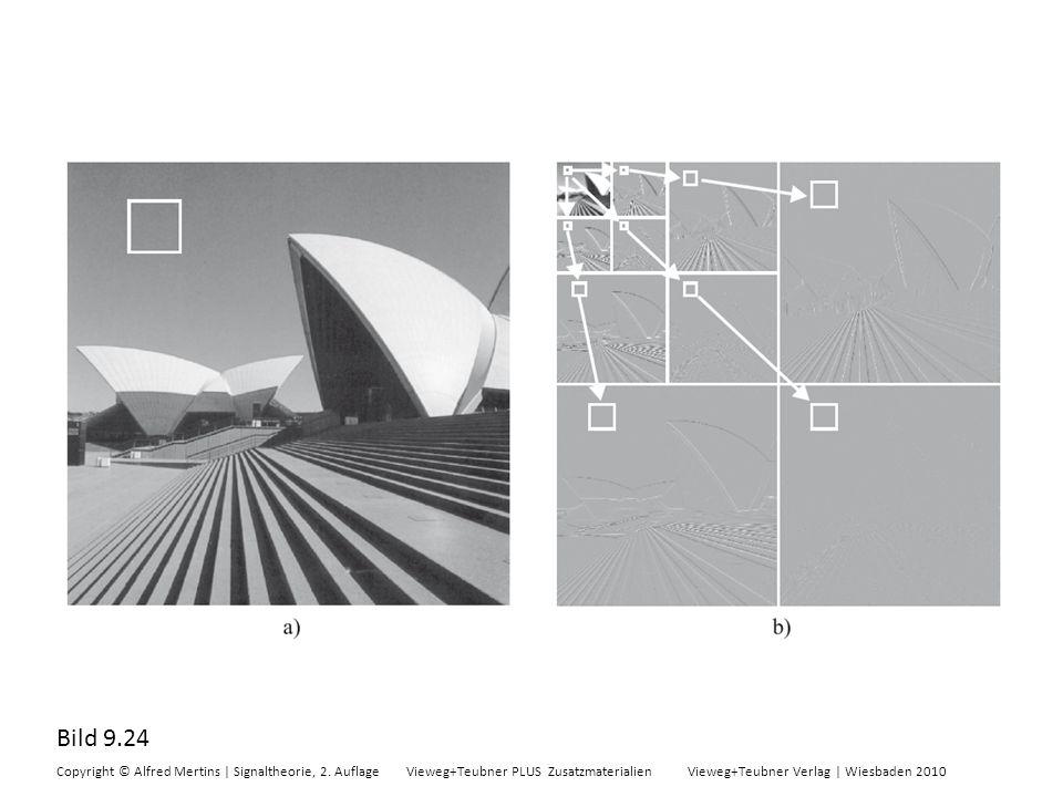 Bild 9.24 Copyright © Alfred Mertins | Signaltheorie, 2. Auflage Vieweg+Teubner PLUS Zusatzmaterialien Vieweg+Teubner Verlag | Wiesbaden 2010