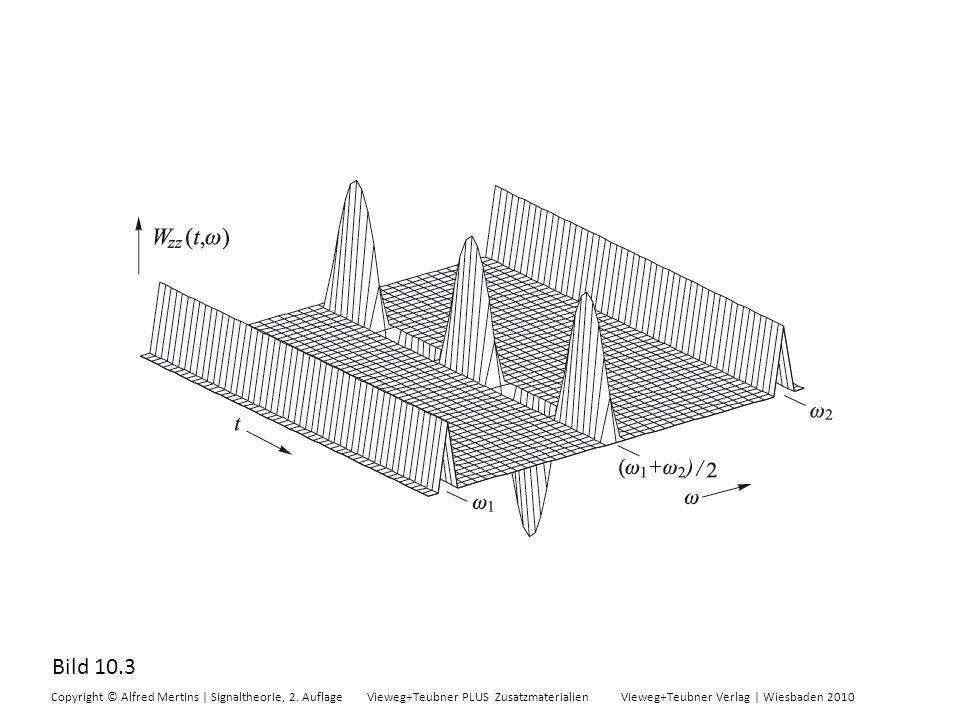 Bild 10.3 Copyright © Alfred Mertins | Signaltheorie, 2. Auflage Vieweg+Teubner PLUS Zusatzmaterialien Vieweg+Teubner Verlag | Wiesbaden 2010