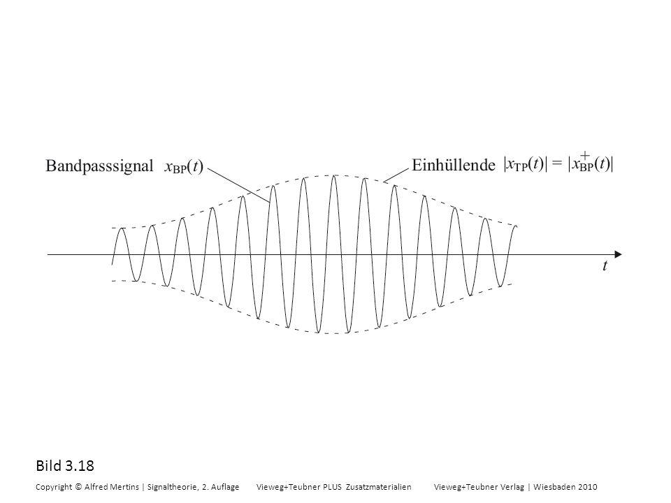 Bild 3.18 Copyright © Alfred Mertins | Signaltheorie, 2. Auflage Vieweg+Teubner PLUS Zusatzmaterialien Vieweg+Teubner Verlag | Wiesbaden 2010