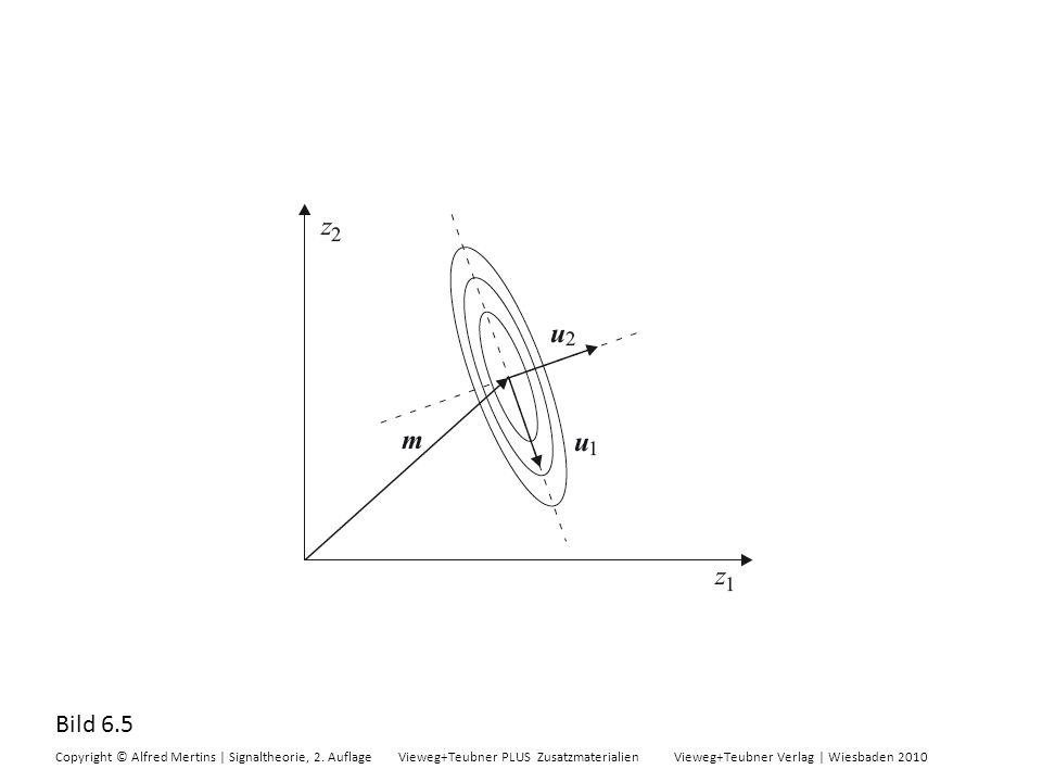 Bild 6.5 Copyright © Alfred Mertins | Signaltheorie, 2. Auflage Vieweg+Teubner PLUS Zusatzmaterialien Vieweg+Teubner Verlag | Wiesbaden 2010
