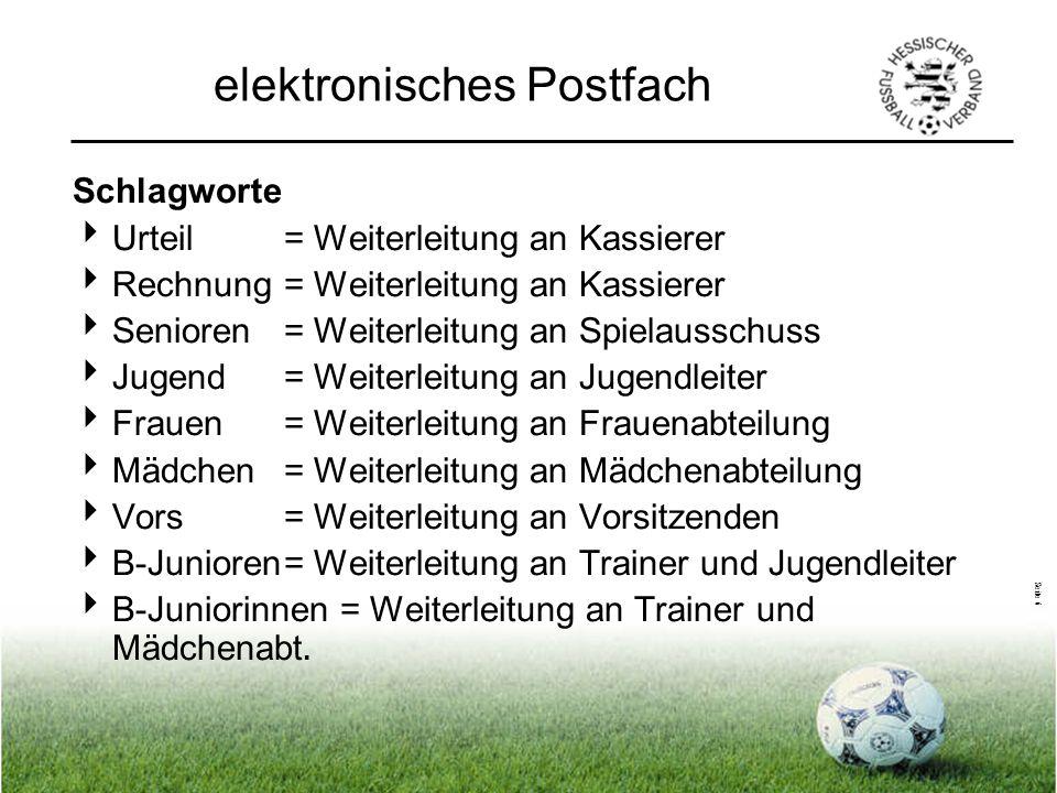 Seite 7 elektronisches Postfach Aufruf: www.hfv-online.de