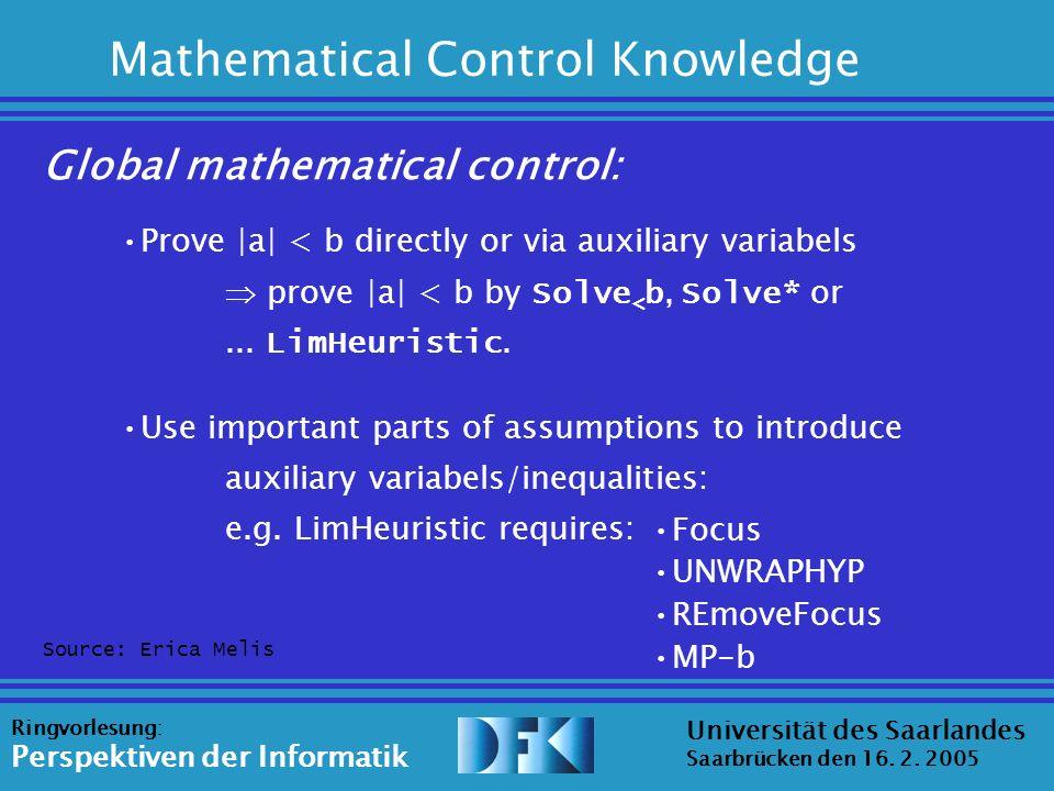 Source: Erica Melis Universität des Saarlandes Saarbrücken den 16.