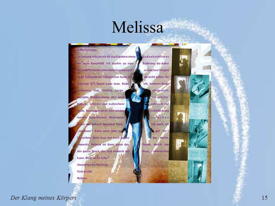 Der Klang meines Körpers15 Melissa