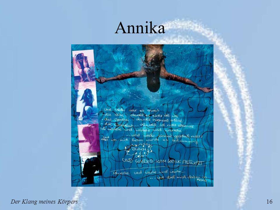 Der Klang meines Körpers16 Annika