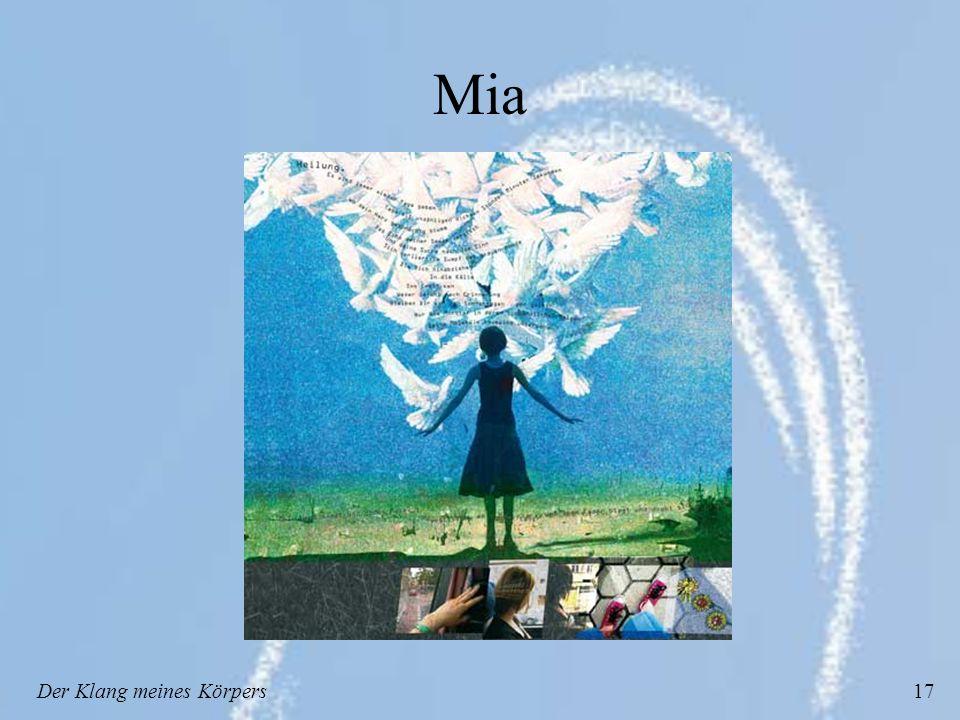 Der Klang meines Körpers17 Mia