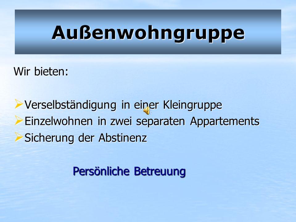 Außenwohngruppe Kapitelstraße Kapitelstr. 63 41460 Neuss Tel: 02131/527390-0 Ansprechpartnerin: Anette Nix Tel: 02131/527390-14