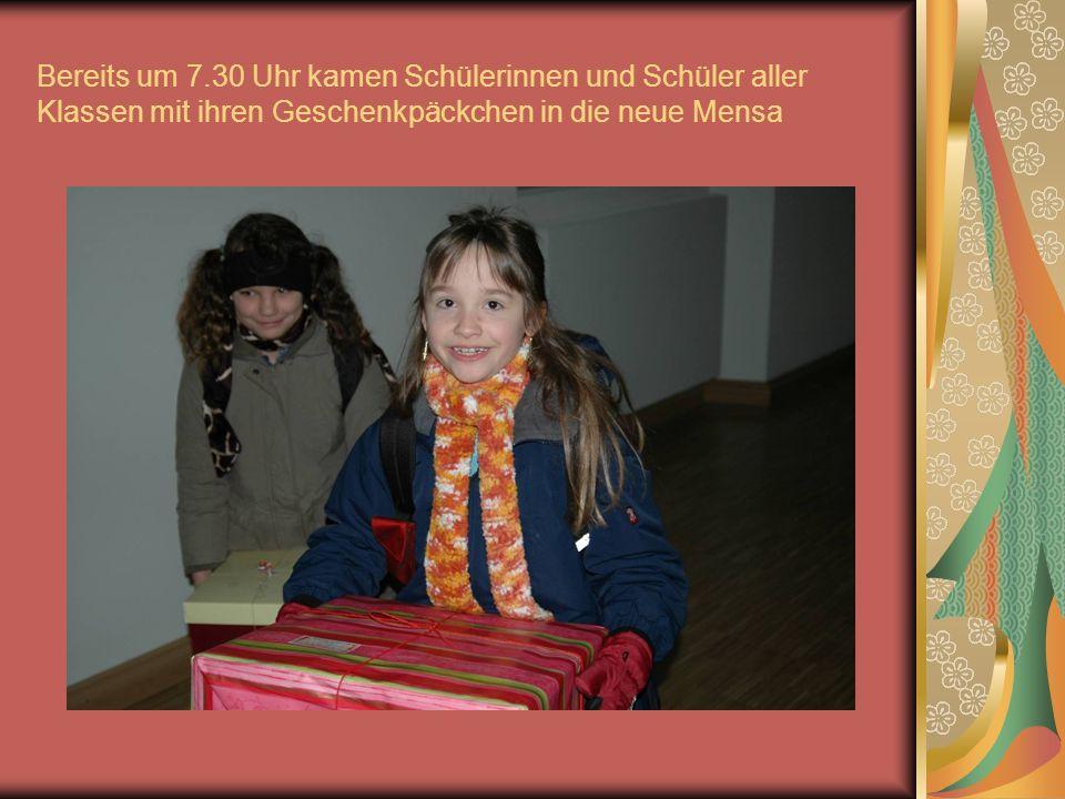Weihnachtssammlung am Franz-Ludwig-Gymnasium Dezember 2006