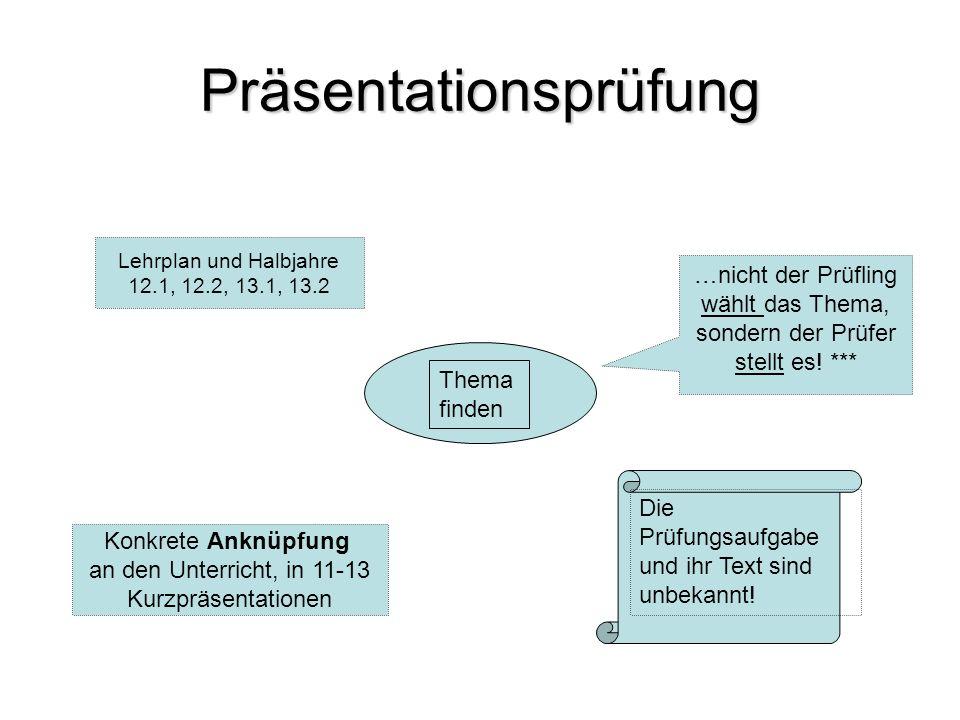 Vorbereiten & Üben oder: Es ist nie zu spät (klein) anzufangen Kurzpräsentationen anfertigen lassen o.