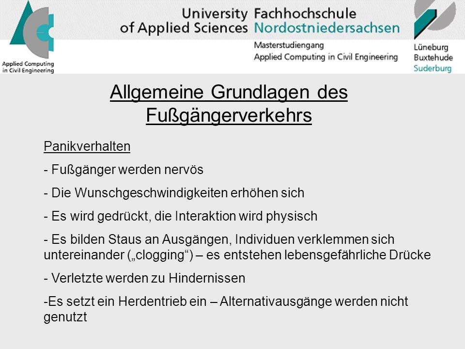 Anwendung des Modells auf charakteristische Szenarien (Internet: bessel.gmxhome.de)