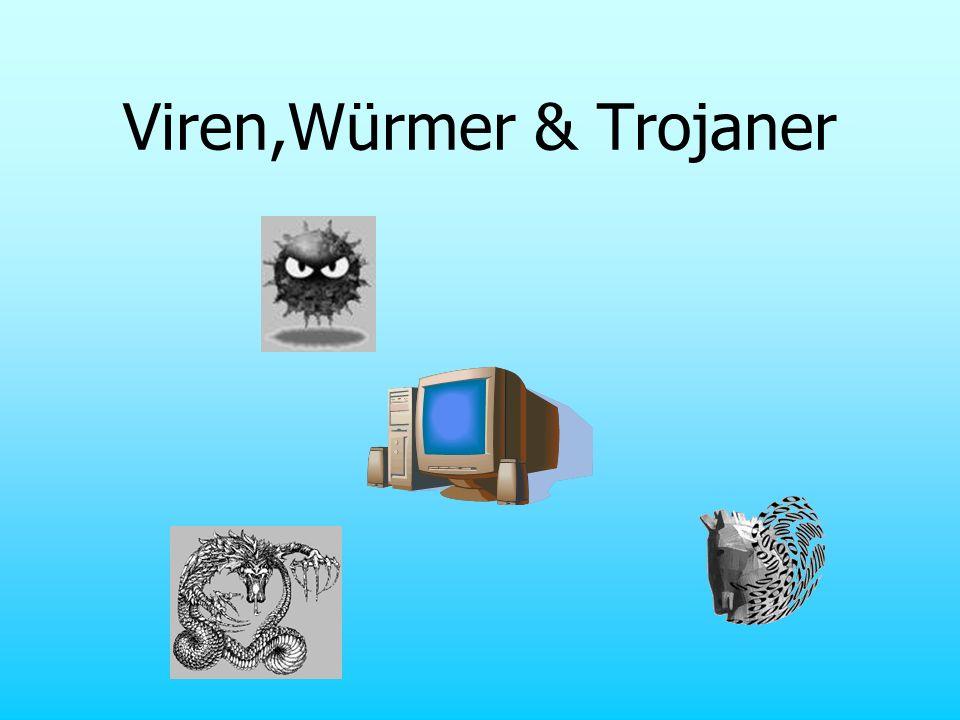 Viren,Würmer & Trojaner