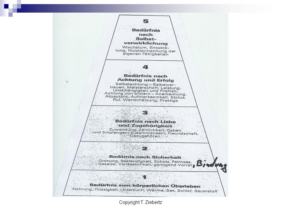 Copyright T. Ziebertz Coping-Strategien Kompetenz, Leistung Macht Reichtum, Status Ablenkung Aufregung Essen, Fasten Drogen, Medikamente Bindung Karri