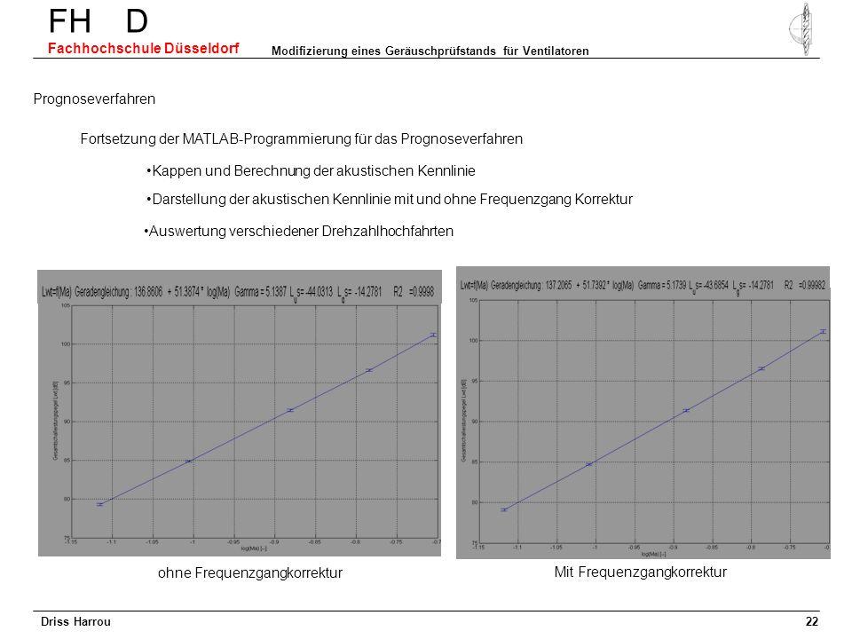 FH D Fachhochschule Düsseldorf Modifizierung eines Geräuschprüfstands für Ventilatoren 21 Messung in unterschiedlichen Positionen im Nah- und Fernfeld