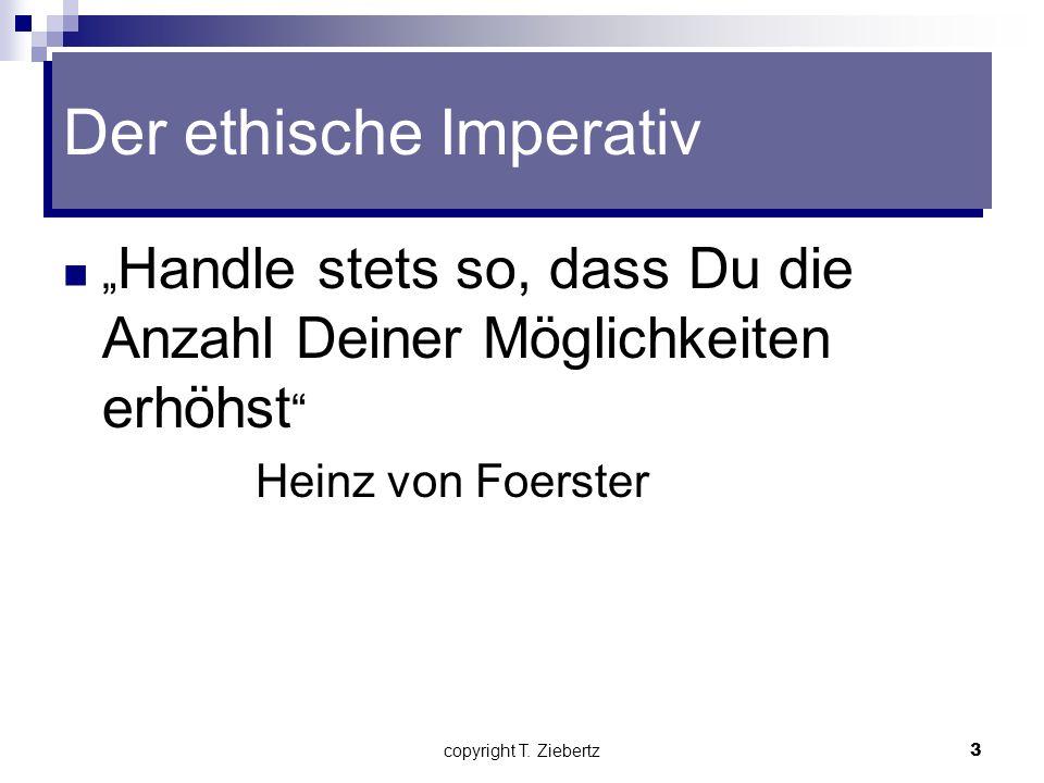 copyright T. Ziebertz2 Grundlagen der modernen systemischen Therapie Zirkularität Konstruktivismus Es gibt keine Wahrheiten, nur Wahrnehmungen Übersum