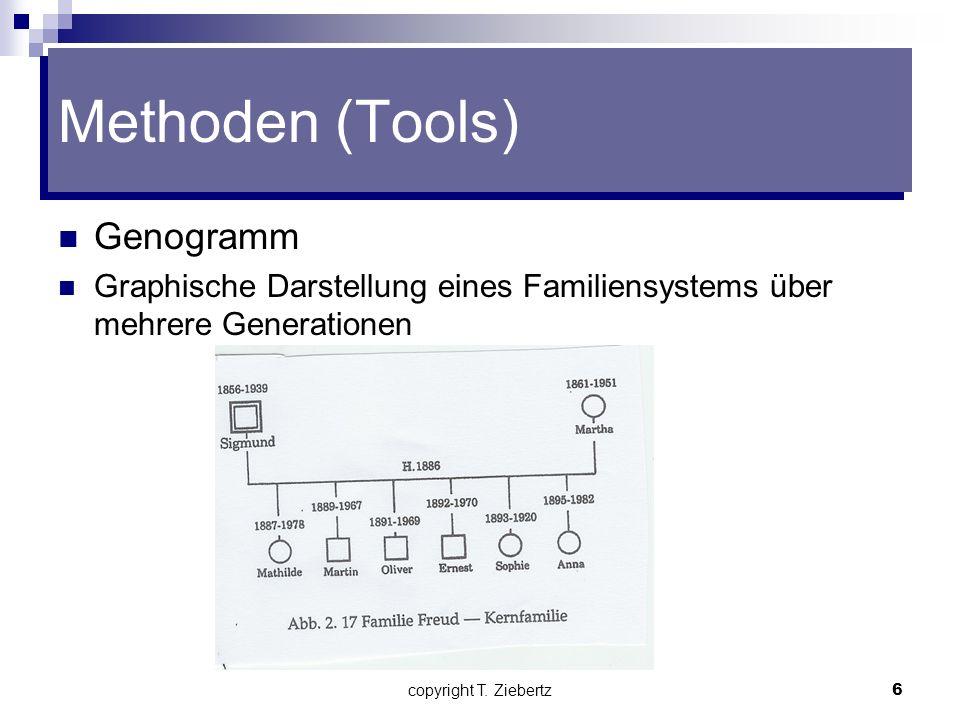 copyright T. Ziebertz5 Methoden (Tools)