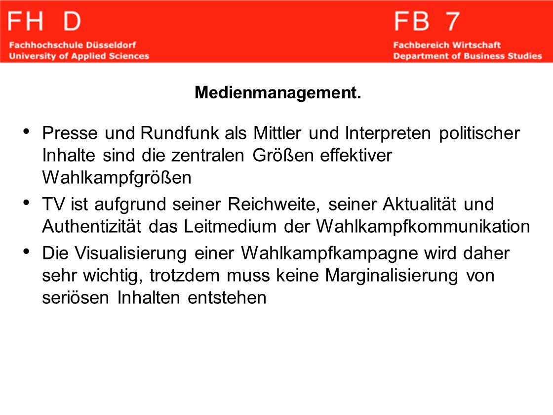 Medienmanagement.