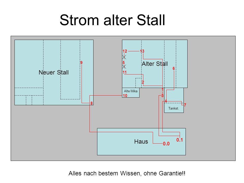Neuer Stall Alter Stall Haus Alte Mika 1 Tankst.