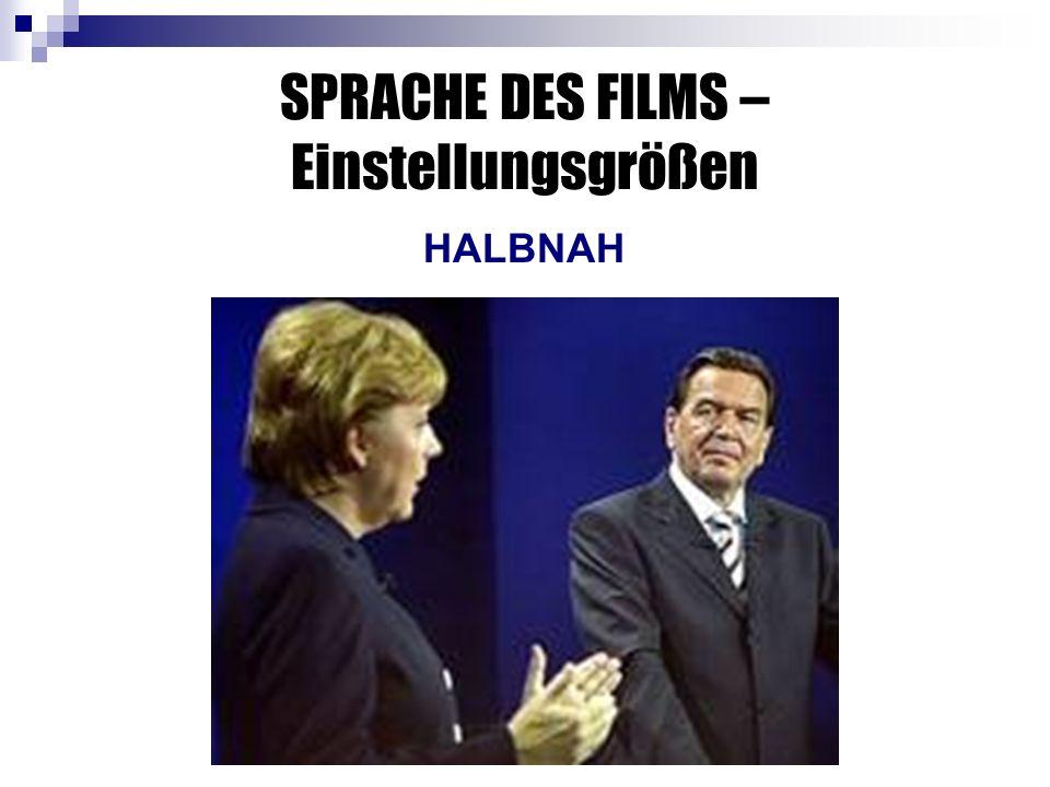 SPRACHE DES FILMS – Einstellungsgrößen HALBNAH