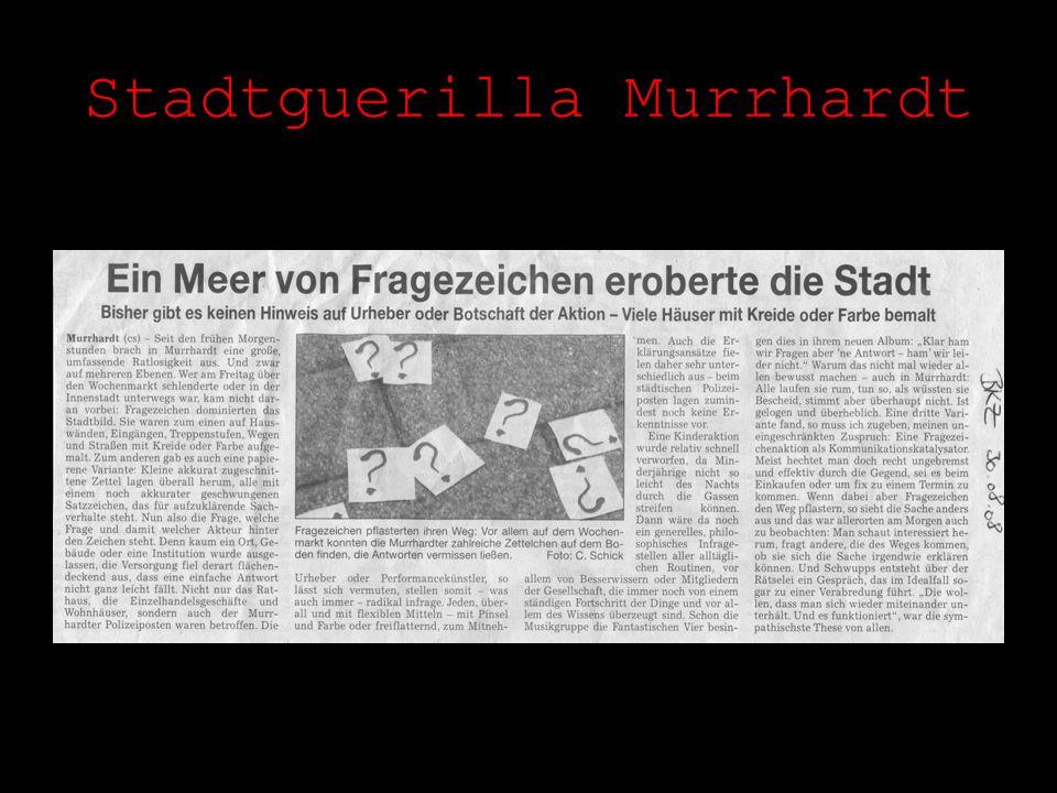 Stadtguerilla Murrhardt
