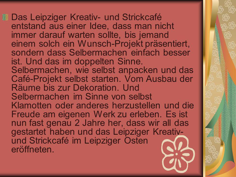 Zu unseren Aktionen kommen Menschen aus allen Teilen von Leipzig.