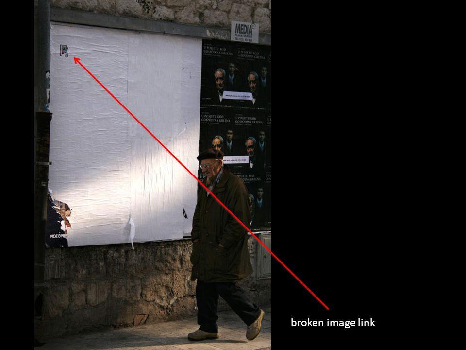 broken image link