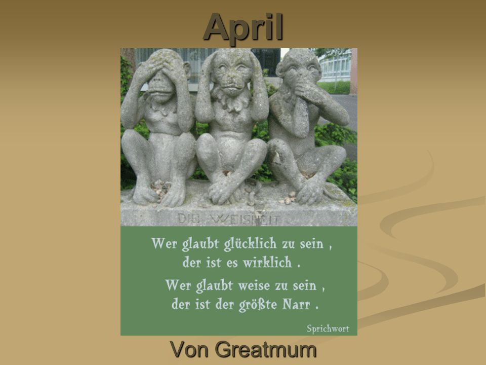 Von Greatmum April