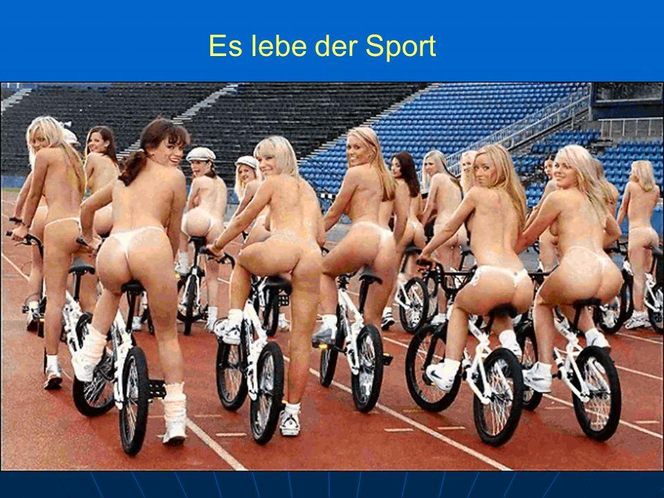 Und nun die Gruppe Radsport