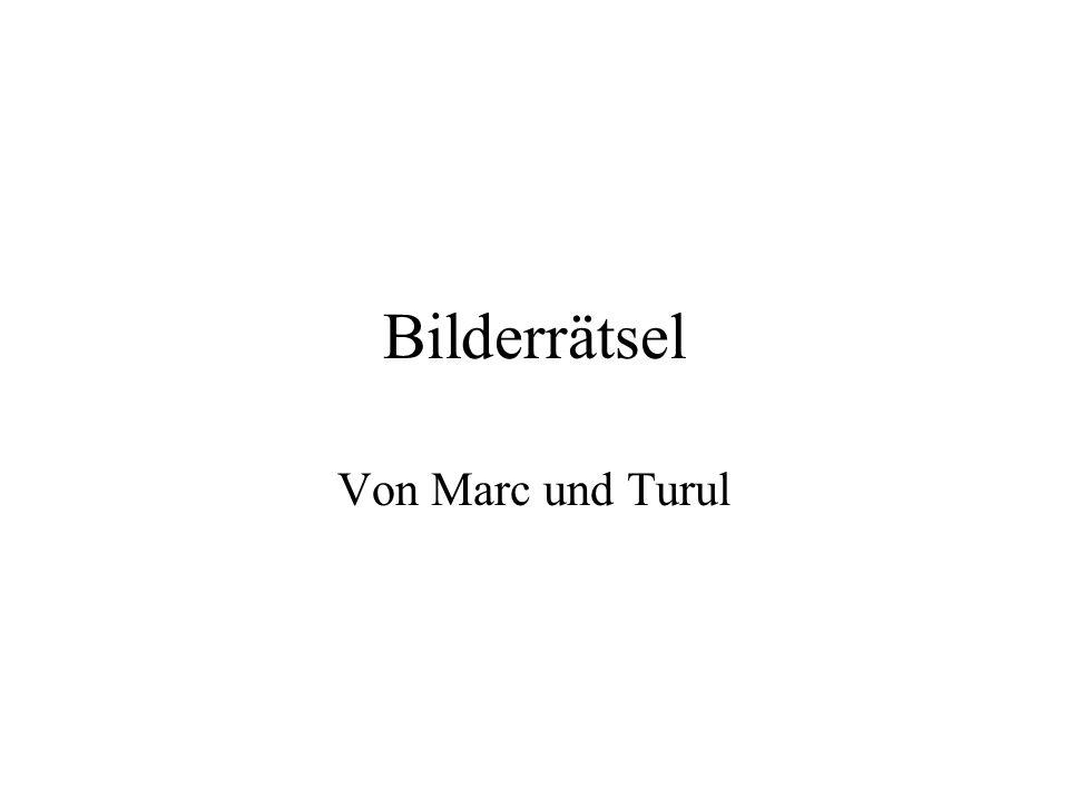 Bilderrätsel Von Marc und Turul