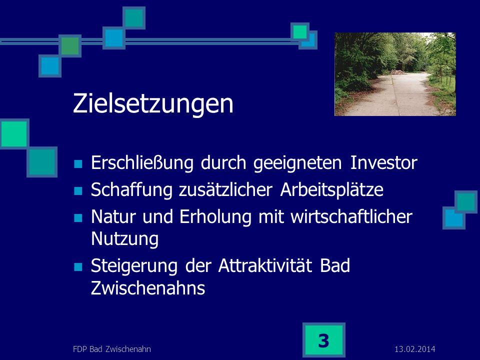 13.02.2014FDP Bad Zwischenahn 2 Gartenlandschaft mit Flair Landschaftsschutz mit städtebaulicher Verträglichkeit.