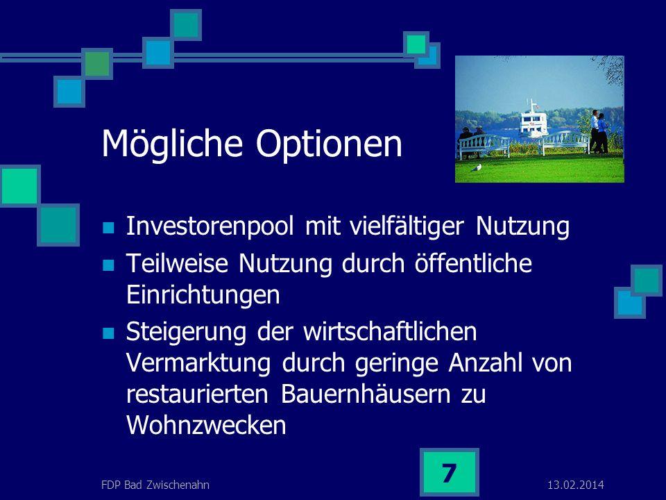 13.02.2014FDP Bad Zwischenahn 6 Wie ist die jetzige Situation.