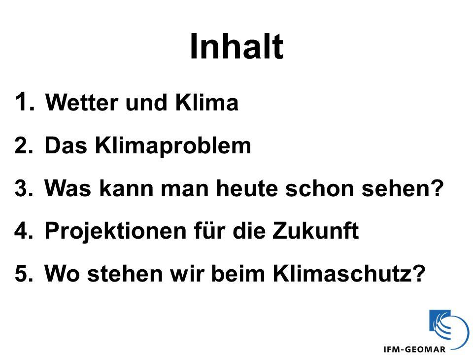1. Wetter und Klima