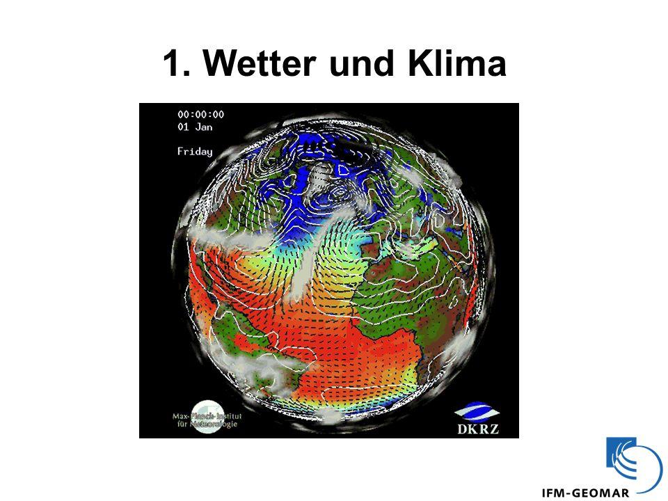 Die globale Temperatur seit 1850