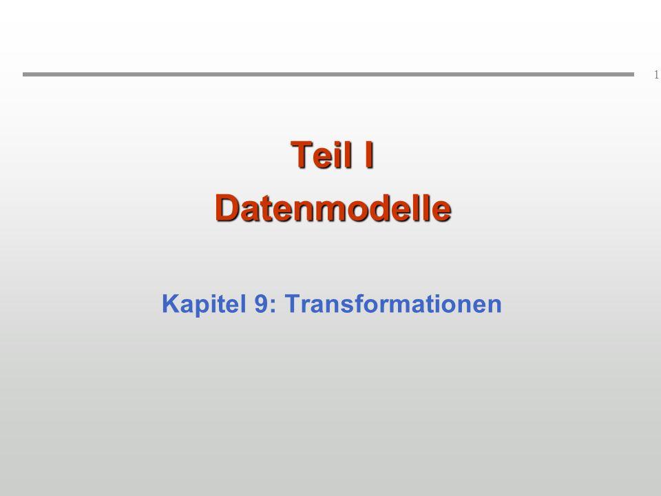 122 Datenaustausch auf Basis von XML ADBADB o p vv DBDB Gegeben: Relationales Schema Gesucht: XML-Sicht auf relationale DB und v informationserhaltend Export und Import von Daten aus bestehender relationaler Datenbasis Selbstbeschreibendes Datenformat bei der Übertragung Keine Preisgabe interner Datenstrukturen