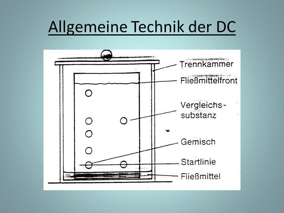 Allgemeine Technik der DC