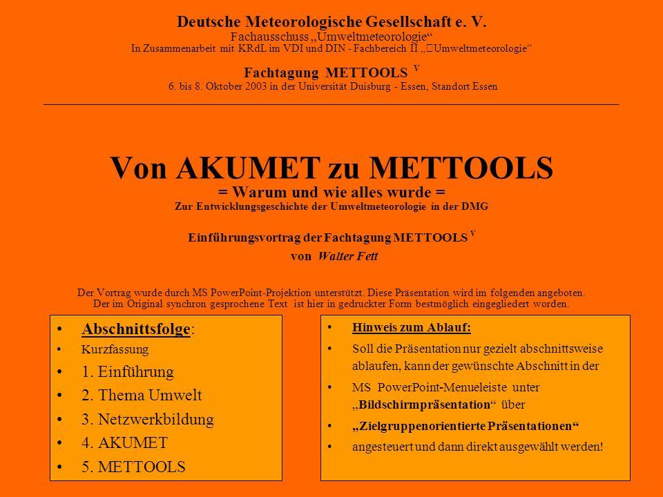 Deutsche Meteorologische Gesellschaft e.V.