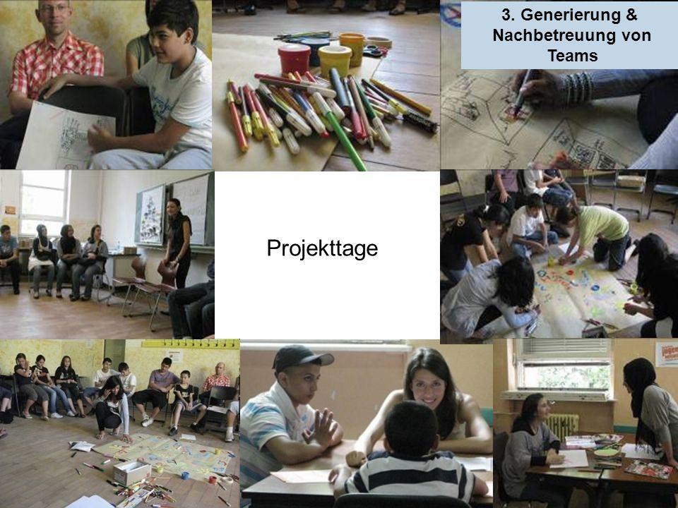 3. Generierung & Nachbetreuung von Teams Projekttage