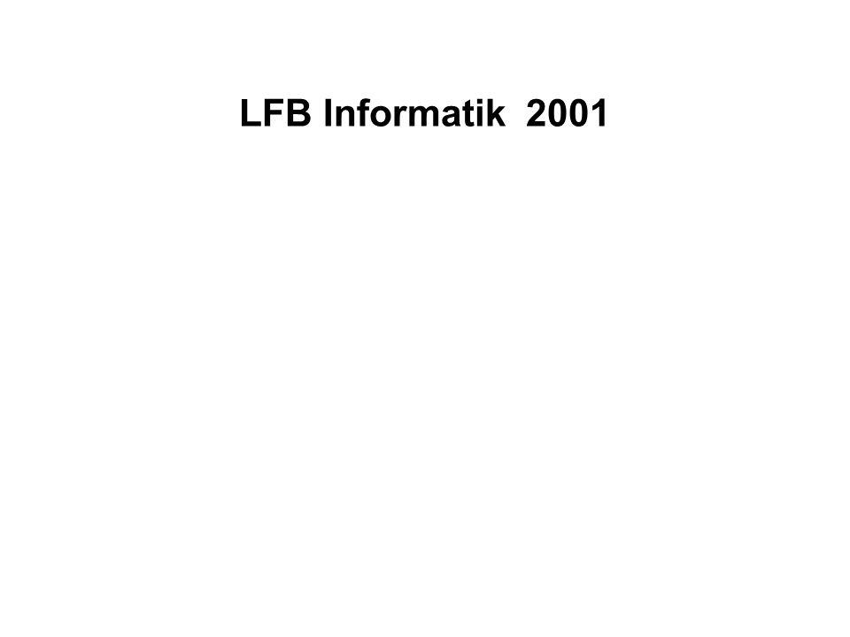 LFB Informatik 2001