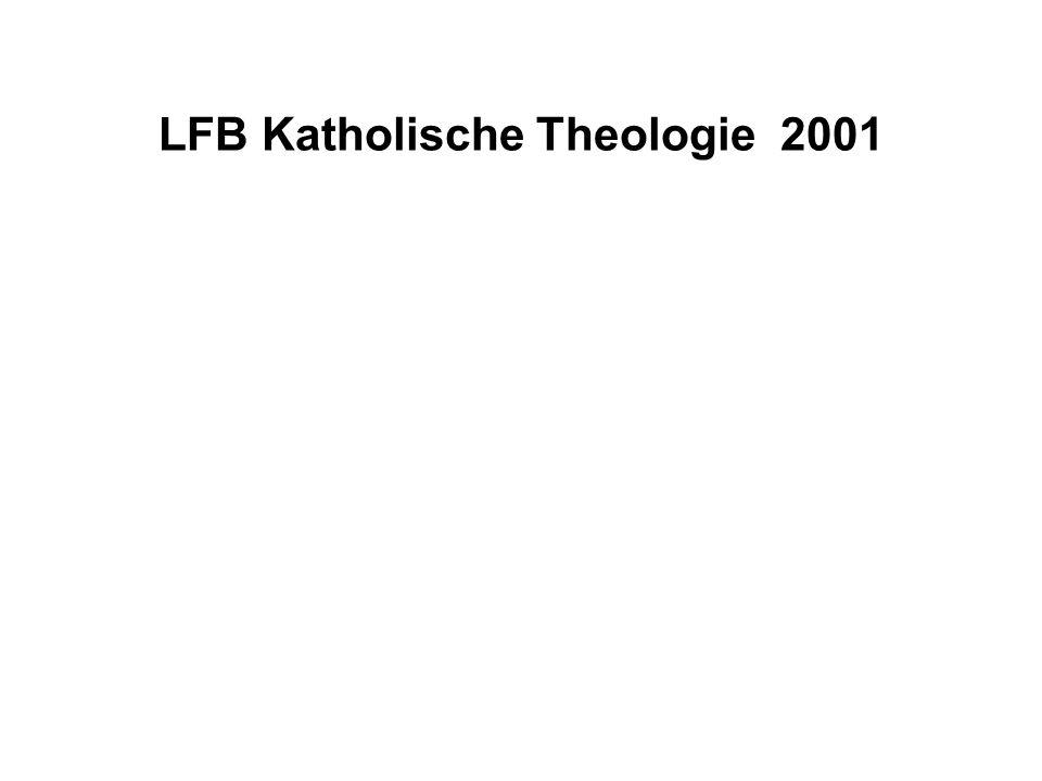 LFB Katholische Theologie 2001