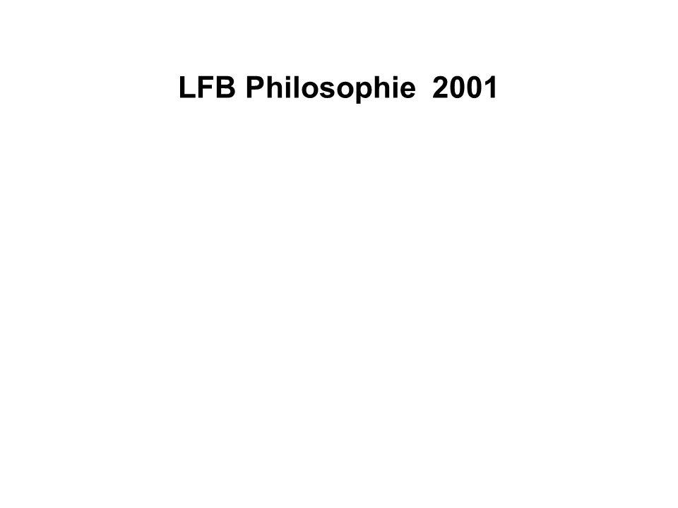 LFB Philosophie 2001