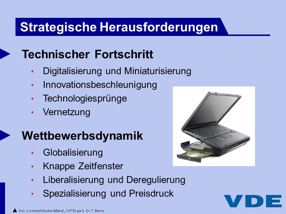 Dok: c:\vde\ppt\Studium&Beruf_110700.ppt 3 - Dr.T.