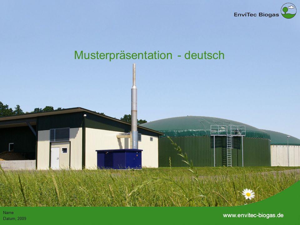 53 148 38 208 116 169 87 165 197 142 211 226 199 1 1 Name Datum, 2009 www.envitec-biogas.de Musterpräsentation - deutsch