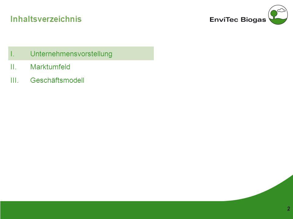 53 148 38 208 116 169 87 165 197 142 211 226 199 3 3 EnviTec Biogas im Überblick Umsatz 2009:EUR 120 Mio.